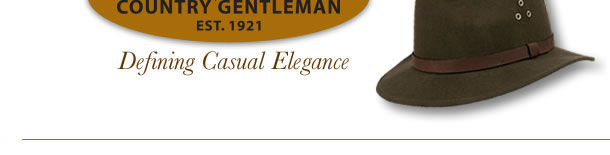 Country Gentleman Hats